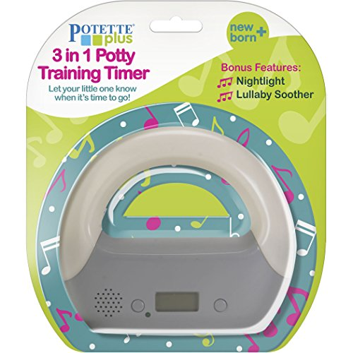Kalencom Potette Plus 3-in-1 Potty Training Timer + Night Light + Lullaby Soother
