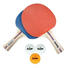 The Franklin Sports 2 Player Table Tennis and Ball Set is the perfect way to ensure your family and friends can join in on the fun. With (2) superior control table tennis paddles and (3) table tennis balls included, you'll have everything you...