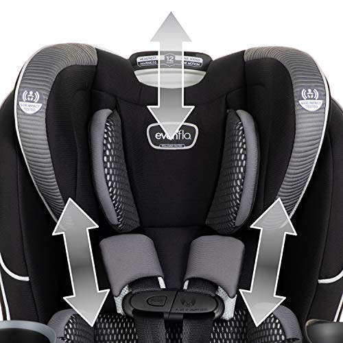 51FMhRSdCIL - Evenflo EveryFit 4-in-1 Convertible Car Seat, Olympus