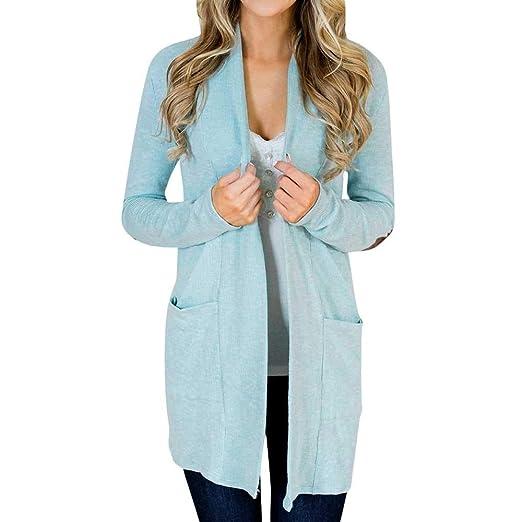 1bfb720c0d NREALY Jacket Women s Long Sleeve Oversized Loose Knitted Sweatshirt  Cardigan Outwear Coat at Amazon Women s Clothing store