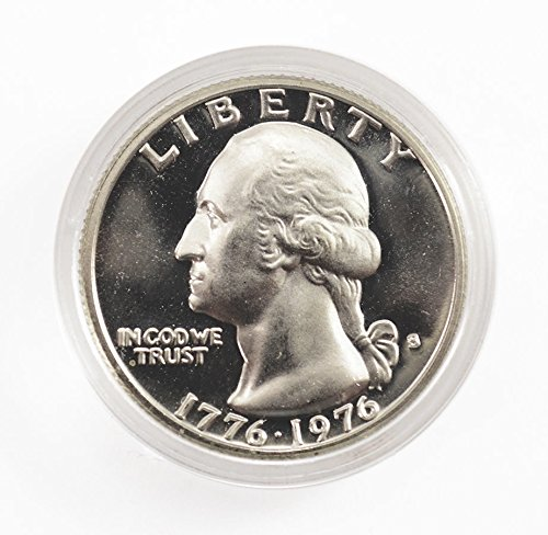 1976 S 40% Silver Bicentennial Washington Quarter 25¢ Proof