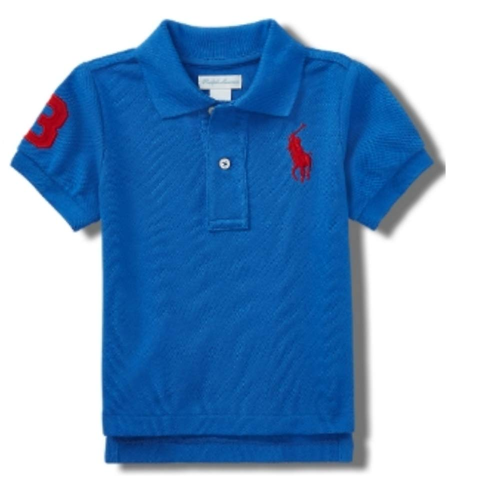 Ralph Lauren Baby Boys Big Pony Polo T Shirt (18 M)