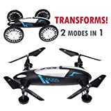 Best Quadcopter RTF With GoPros - CyberTech 2 in 1 (Car and Fly) RC Review