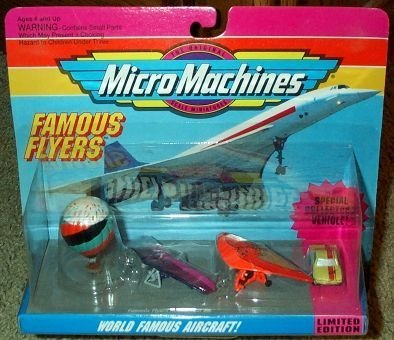 World Famous Aircraft Micro Machines #6 Collection