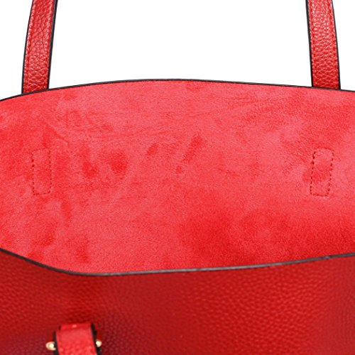 Bag LeahWard Bags Shoulder Quality Handbags In CW265 Shopper Red Holiday 1 Large For Shoulder Women For 2 School Bag rrTwxUFn1q