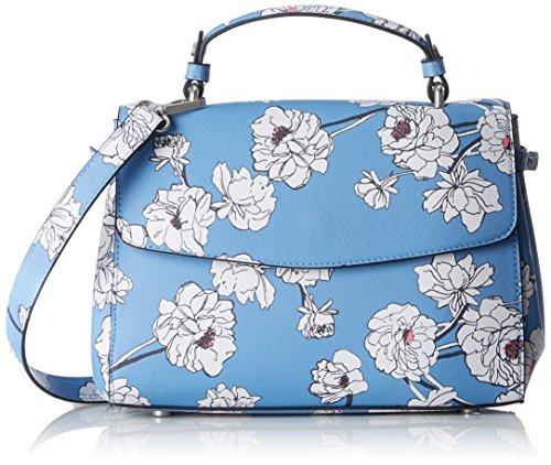 S.oliver (sacs) 39.804.94.3336, Sacs à bandoulière bleu pour femme (bleu Aop)