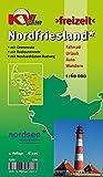 Nordfriesland Kreis mit Sylt, Amrum, Föhr und Halligen: Freizeitkarte in 1:60.000 mit neuem Radroutennetz, mit Wikinger-Friesen-Weg, mit ... ttp://www.kv-plan.de/Schleswig-Holstein.html)
