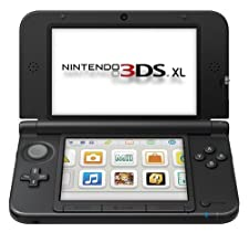 Nintendo Blue/Black Nintendo 3DS XL Console - Standard Edition