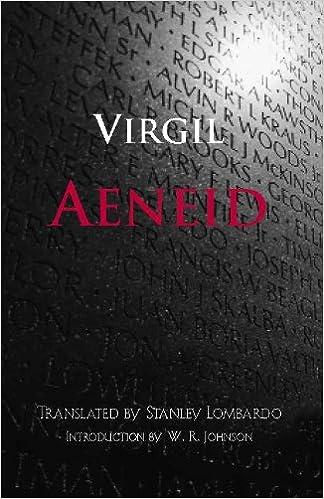 Aeneid Hackett Classics Kindle Edition By Virgil
