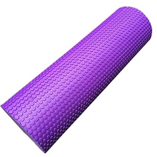 Yoga Roller,OUBAO 60x15cm Physio EVA Foam Yoga Pilates Rolle