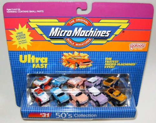 Micro Machines 1950's (50's) #31 B Collection
