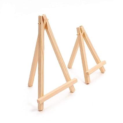 Amazon Com Easel Stand 24 Pcs Mini Artist Wooden Wood