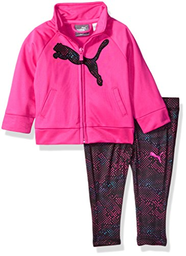 PUMA Baby Girls Track Jacket and Legging Set