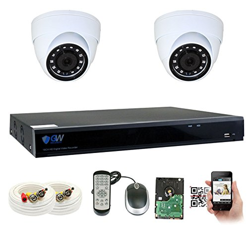 GW Security VDW8CH6C37HD 8 Channel DVR with 1200TVL Weatherproof CCTV Surveillance Security Camera System Review