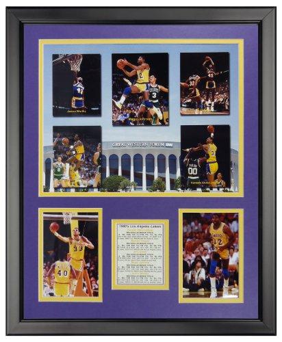 Los Angeles Lakers Framed - Legends Never Die NBA 1980's Los Angeles Lakers Greats Framed Photo Collage, 18