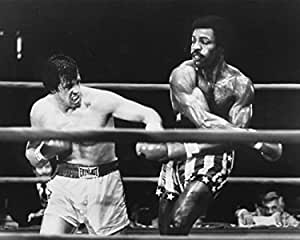 Erthstore 8x10 inch Photograph of Rocky Italian Stallion /& Apollo Creed Sylvester Stallone Carl Weathers