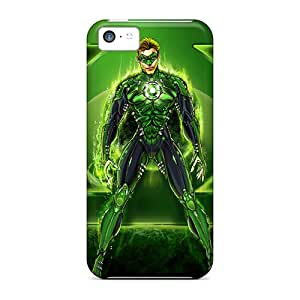 Iphone 5c Case Slim [ultra Fit] Green Lantern I4 Protective Case Cover