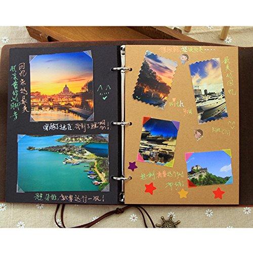 Amato Saibang Album per foto per fai-da-te, matrimonio, scrapbooking  KQ02