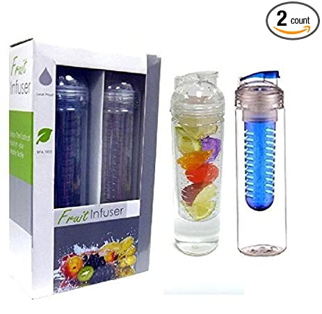 fruit infuser water bottlewater bottle infusers 2 pack 32oz