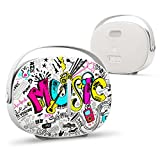 GIZEE Portable Bluetooth Speaker Indoor/Outdoor Traveler Subwoofer 30W HD Sound Loud 2000 mAh Battery Cool Wireless Speaker (Colorful Graffiti)