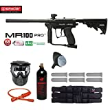 Spyder MR100 Pro Titanium Paintball Gun Package - Black
