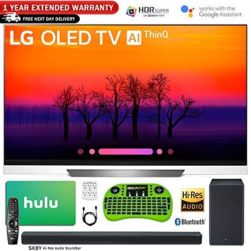 "LG 65"" E8 OLED 4K HDR AI Smart TV  with Bonus Hulu $100 Gift"