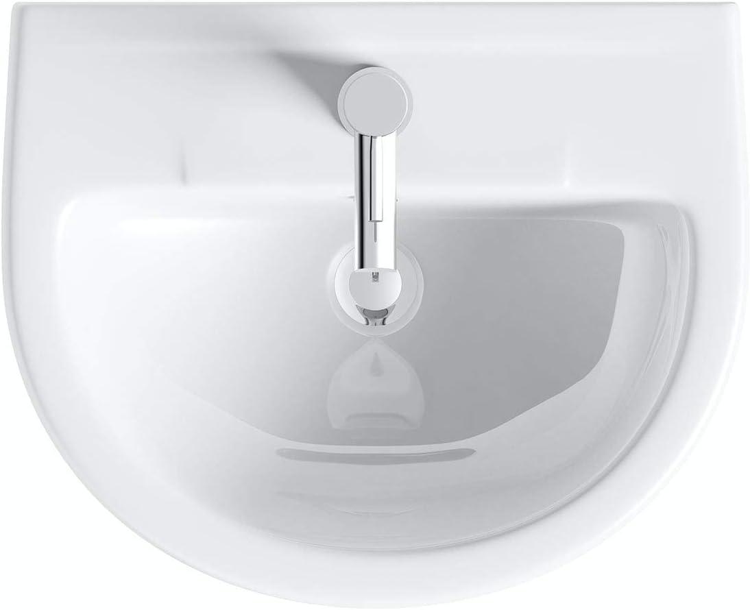 Orchard Balance 1 tap Hole Full Pedestal Basin 543mm