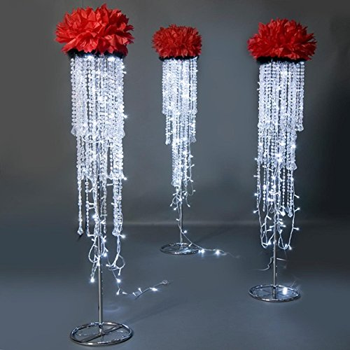 "TCDesignerProducts Dripping with Diamonds Stand Kit - 5'7"" High x 1'6"" Diameter - Includes 1 Stand price tips cheap"