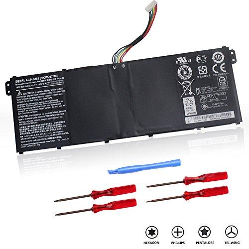 Osstek Replacement AC14B18J Laptop Battery for Acer Chromebook 11 CB3-111 13 CB5-311 15 C910 Aspire E3-111 E3-112 E3-112M ES1-511 ES1-512, Gateway NE512, TravelMate B115-M ()