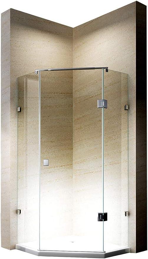 Bernstein baño Shop cabinas de Ducha Pentágono Ducha Nano EchtGlas ...