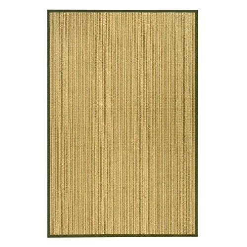 Large Sisal Rugs - Traditional Rug - Natural Fiber Sisal -Green/Green Green/Traditional/8' x 10'/Large Rectangle