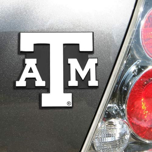 NCAA Texas A&M Aggies Premium Metal Auto Emblem ()