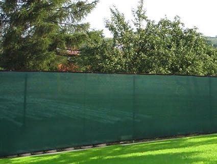Amazon Com 50 Green Windscreen Fence Screen Mesh Privacy Fabric