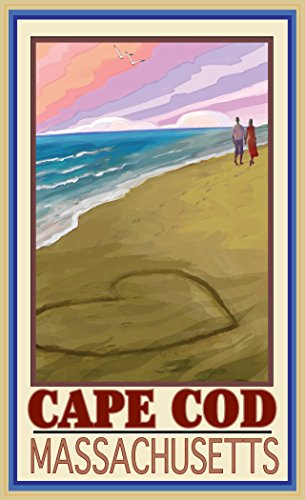 Northwest Art Mall JK-3658 LOC Cape Cod Massachusetts Love On Coast 11