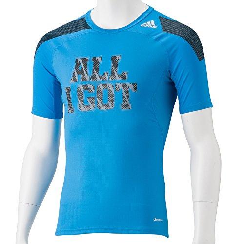 インフレーション慣性スイス人(アディダス) adidas M テックフィット COOL グラフィック FIT Tシャツ