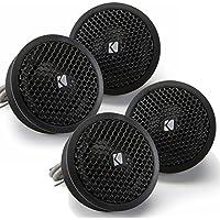 Kicker Speaker Bundle - Two pairs of Kicker 1 Inch KS-Series Tweeter 41KST254