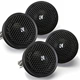 Kicker Speaker Bundle - Two pairs of Kicker 1 Inch KS-Series Tweeter 41KST254