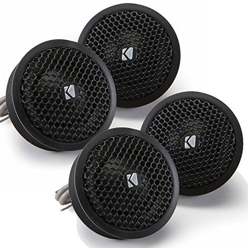 Kicker Speaker Bundle - Two pairs of Kicker 1 Inch KS-Series Tweeter 41KST254 - Kicker Ks Series