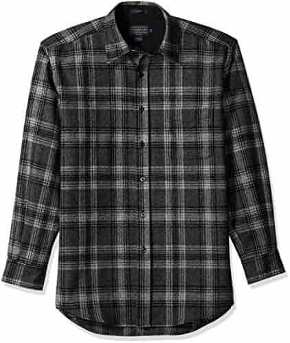 Pendleton Men s Long Sleeve Button Front Classic Lodge Shirt 84b17b9617bd