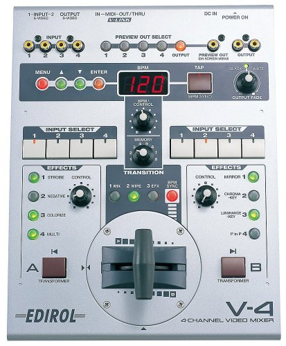 Edirol V4 Video Mixer (with Effects) (4 Channel Video Mixer)