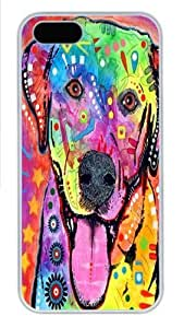 iPhone 6 plus Case, iPhone 6 plus Cases -happy lab PC Hard Plastic Case for iPhone 6 plus Whtie