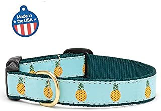 "product image for Up Country Pineapple Dog Collar (XL 17""-24"")"