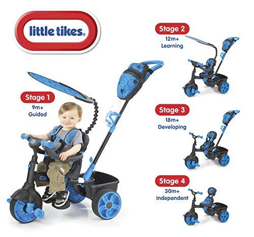 Triciclo Luxo 4 Em 1 Azul Little Tikes Little Tikes Azul