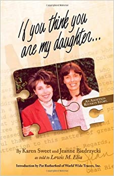 If You Think You Are My Daughter by Karen Sweet (2003-11-03)