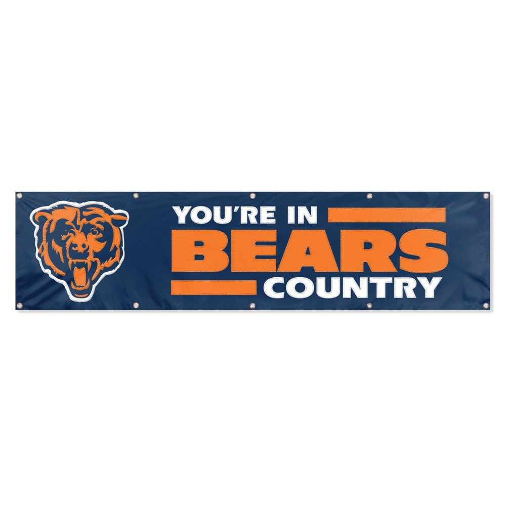 Party Animal Chicago Bears 8'x2' NFL Banner by Party Animal