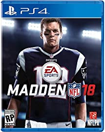 Amazon.com  Madden NFL 18 - PlayStation 4  Electronic Arts  Video ... 93e21856d