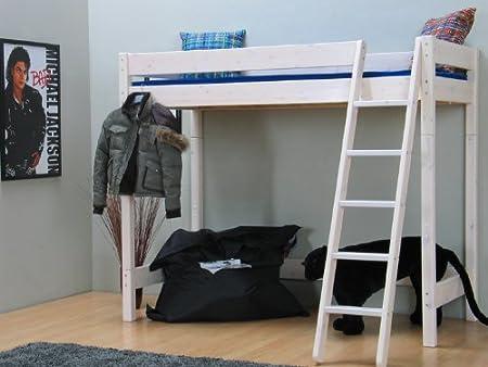 Etagenbett Mit Lattenrost : Hochbett kinderbett flexi bett kiefer massiv etagenbett