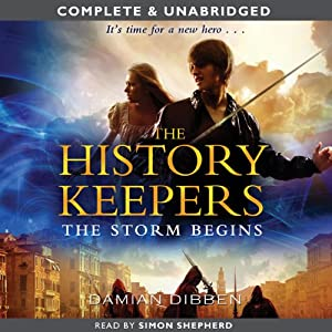 The History Keepers: The Storm Begins Audiobook