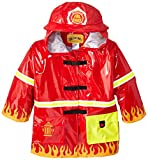 Kidorable Boys' Little Fireman All Weather Waterproof Coat, Red (6/7)