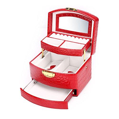 jewelry box tray_ jewelry organizer storage case_earrings organizer_ jewelry box travel portable_ Jewelry Box Ring Display Organiser